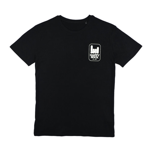 HAPPY ROCK T-Shirt Black