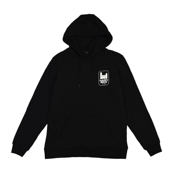 HAPPY ROCK Hoodie Black