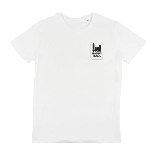 HAPPY ROCK T-Shirt White
